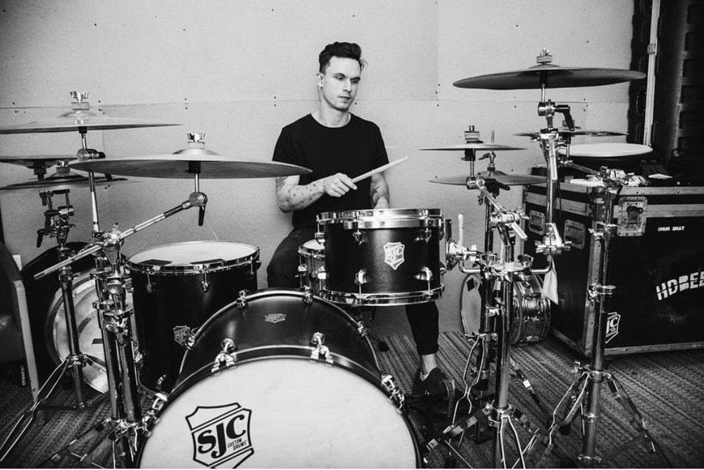 Drum Teacher Derek Vautrinot