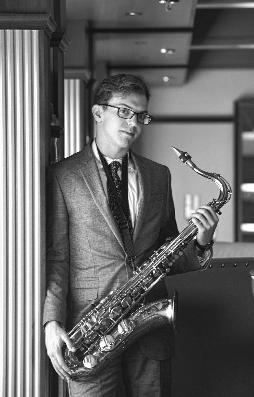 Saxophone Teacher Kevin Miller