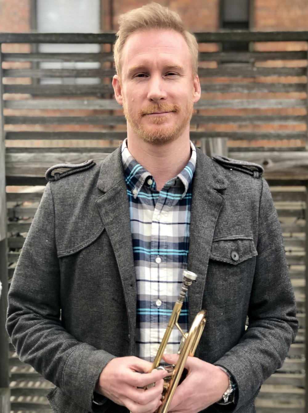 Trumpet Teacher Derrick Stauffer