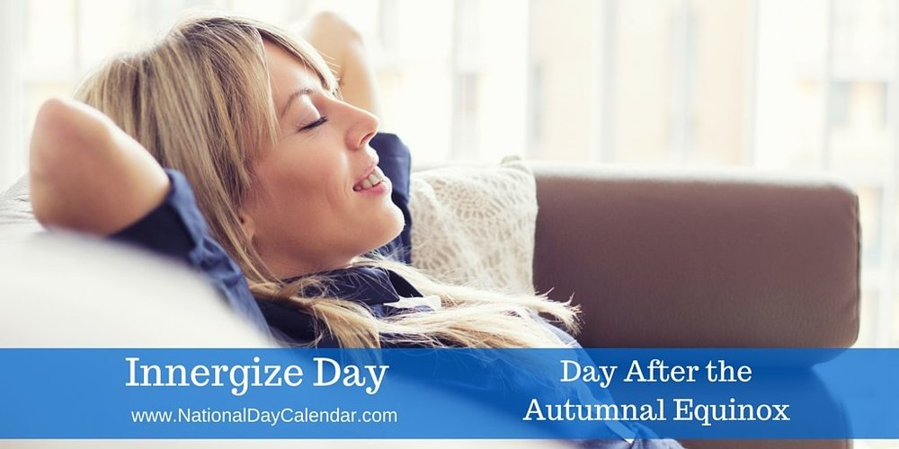 Click through for informational wordybits 'bout INNERGIZE DAY!! It's a soopernice one!!