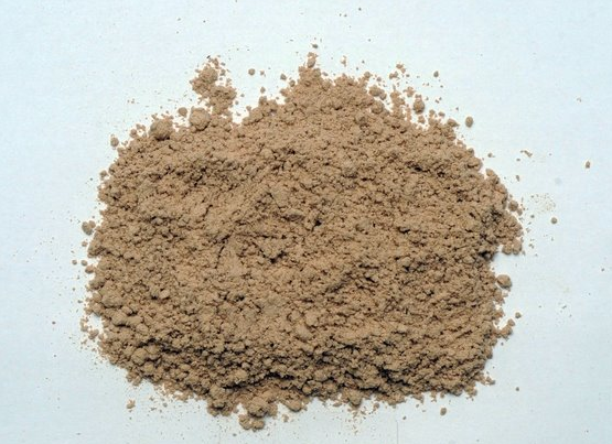 The powdered bark of a Slippery Elm