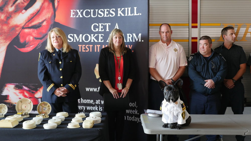 Wendy Cowdrey, Chief Fire Prevention Officer speaks about the history of Fire Prevention Week.