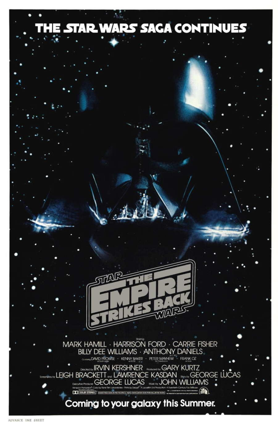 The Empire Strikes Back (1980) The line was spoken by Darth Vader/James Earl Jones