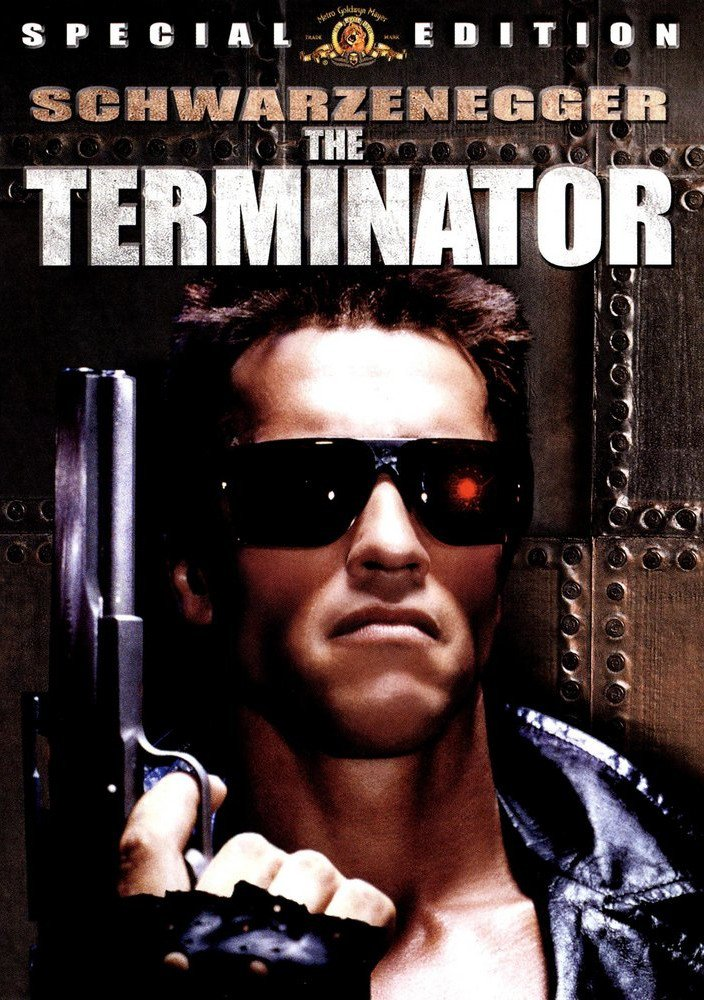 THE TERMINATOR (1984) Spoken by The Terminator / Arnold Schwarzenegger