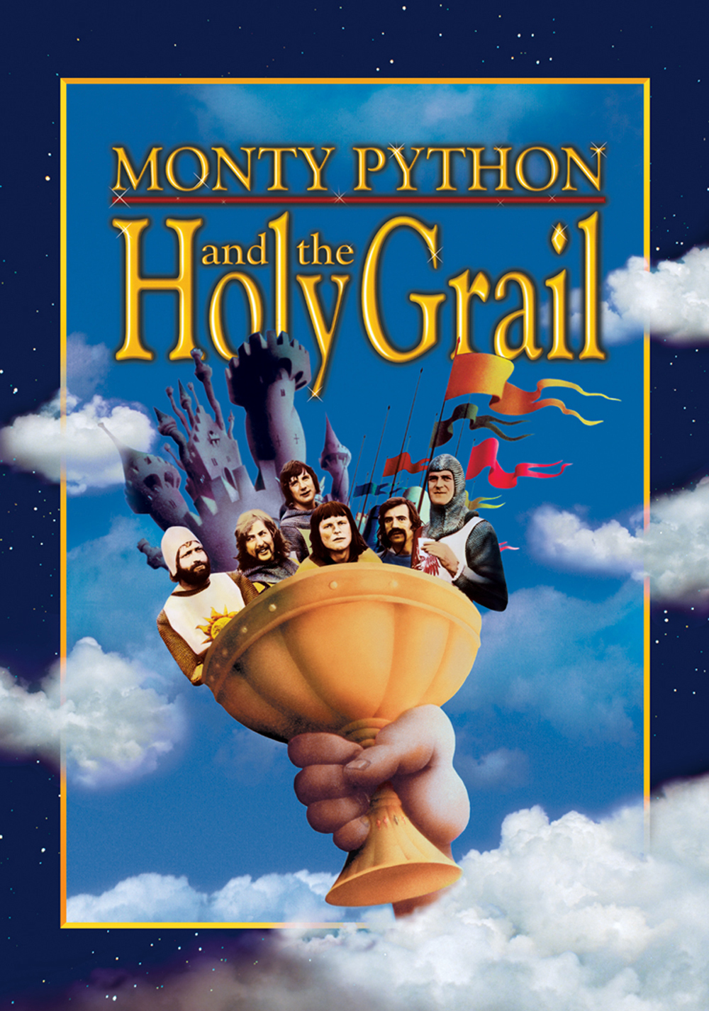 "MONTY PYTHON AND THE HOLY GRAIL (1975) spoken by ""French Soldier""/ John Cleese"
