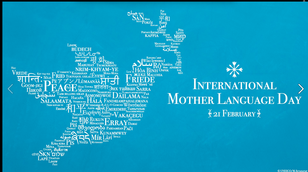 Clickyclick to read more about INTERNATIONAL MOTHER LANGUAGE DAY!! 😊💜