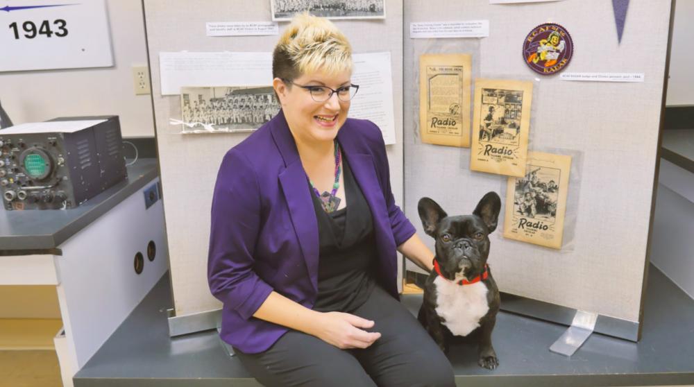 Me plus The Secrets of Radar Museum Curator, Maya Hirschman!! Yup!!😊💜