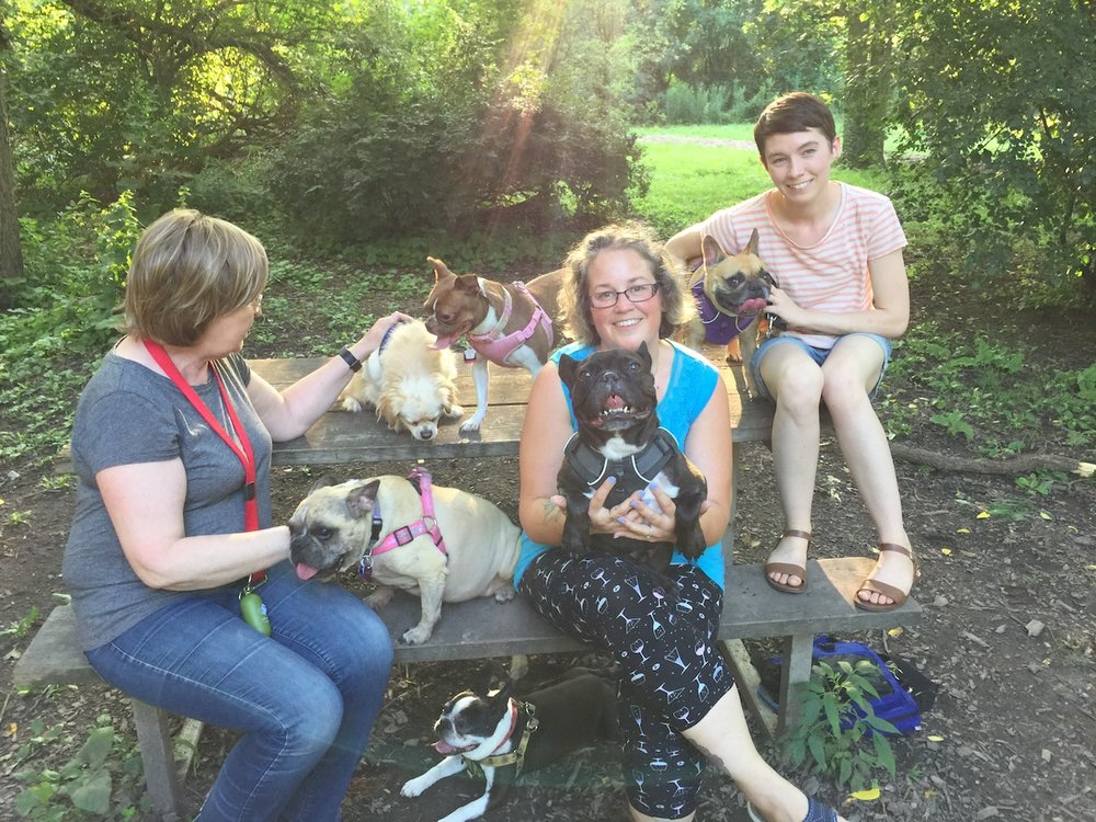 L to R: Mumum, Suki, Uncle Danny, Kirby (bottom), Rosie, Me plus Tina, Mirabelle plus Mum!
