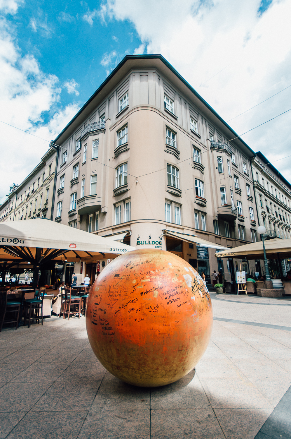 Zagreb has 9 models of planets installed throughout the city and they are all proportional in size. The sun is the easiest to find as it is not only large but also on a busy street. The other planets are difficult to find and the first people to find all of them were Zagreb Physics students.