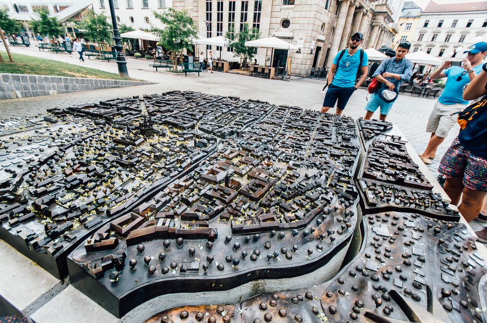 3D view of Zagreb