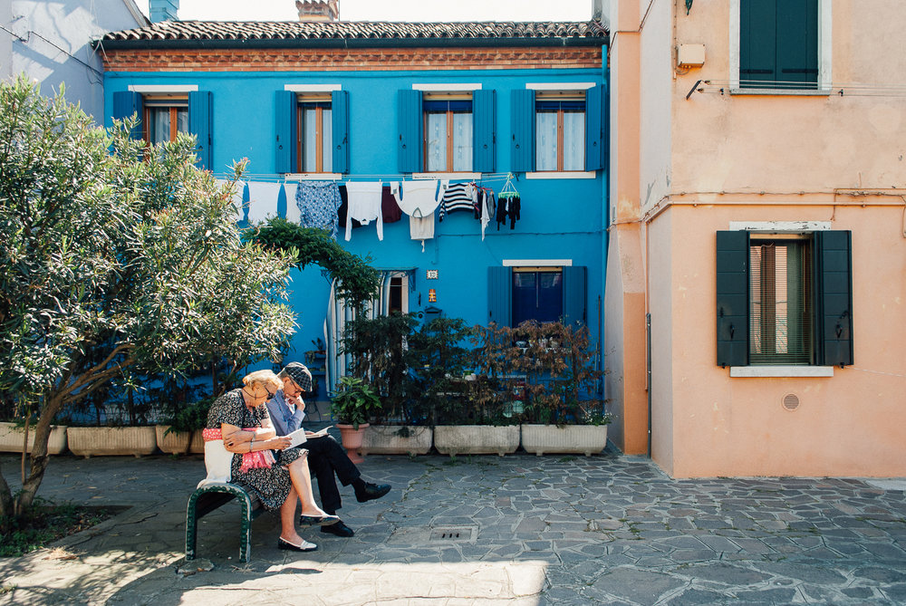 The Couple Limited Edition / $50.00 / Burano, Italy