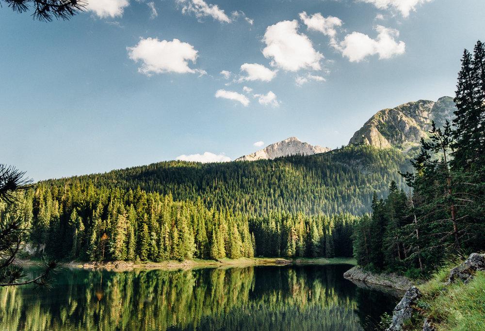 Black Lake Limited Edition / $75.00 / Black Lake, Durmitor, Montenegro