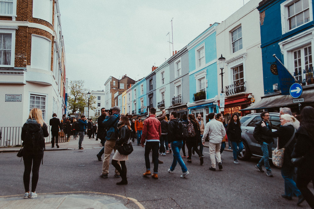 Portobello Road | London | 2017 | Essentials : Warm Memories