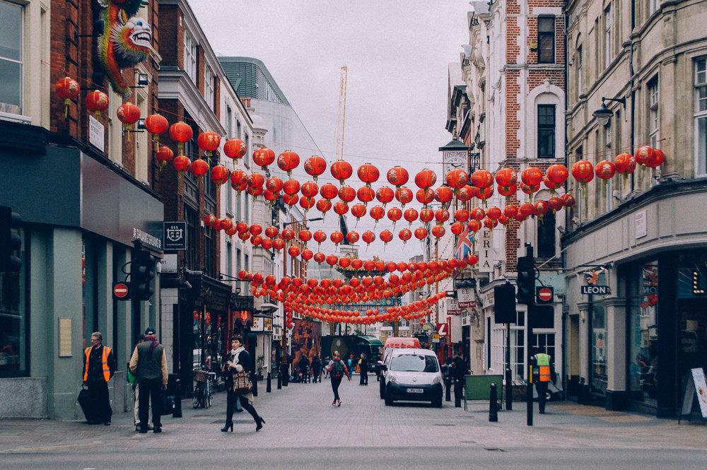 Chinatown  | London | 2017 | Vintage : 1984
