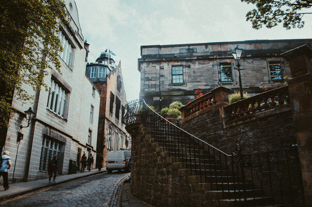 Old Town | Edinburgh | 2017 | Essentials : Warm Memories