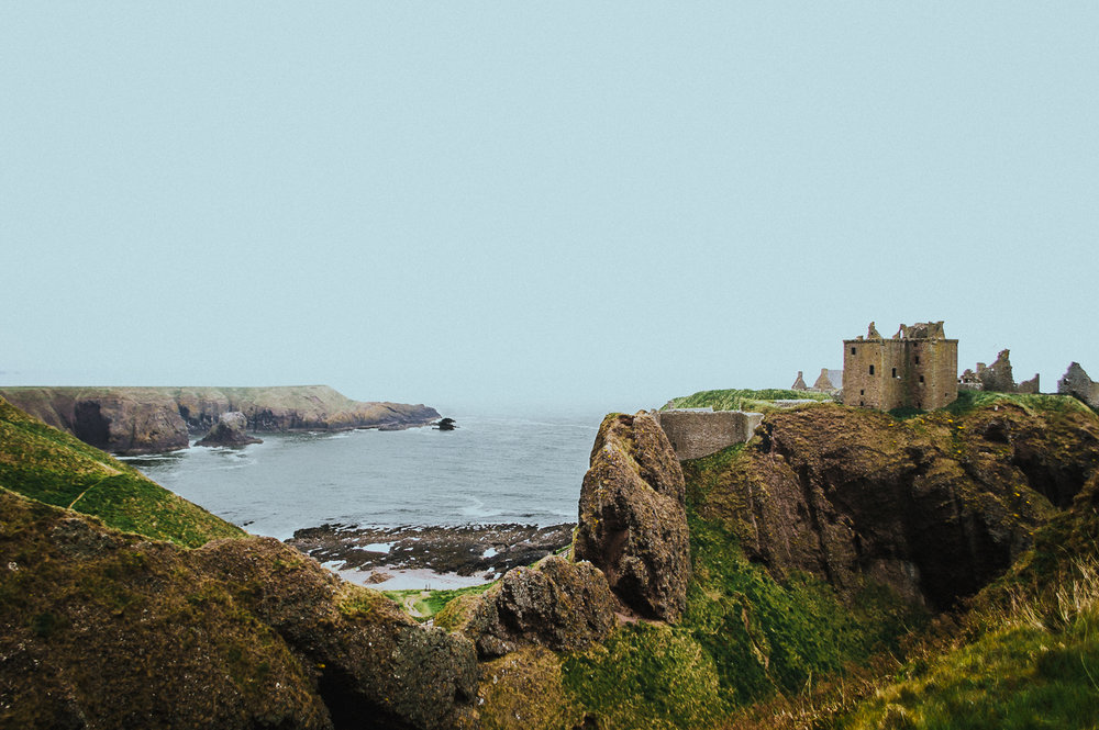 "Brixton Essentials ""Warm Memories"" +  Dunnottar Castle  Scotland"