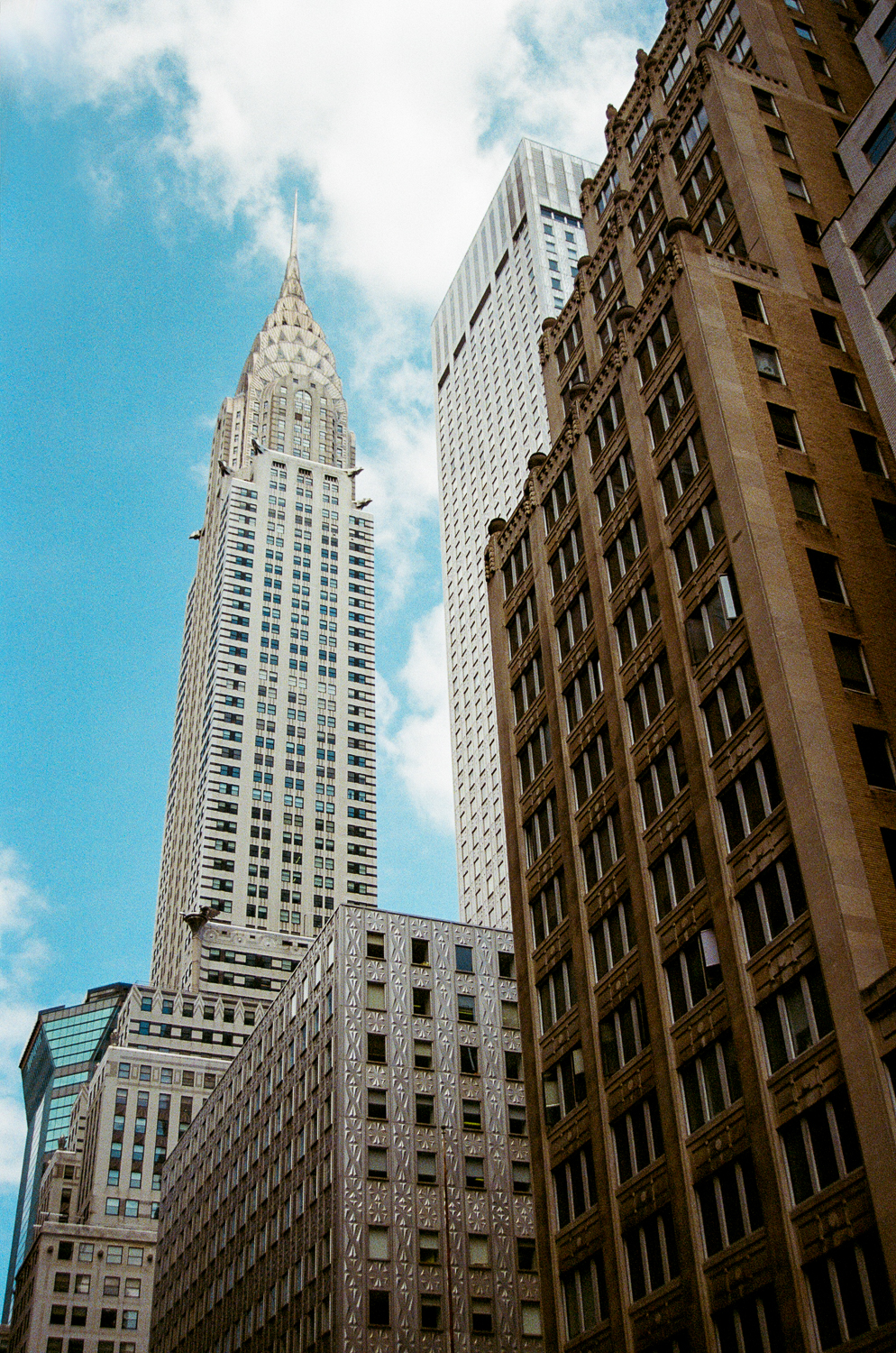 The Chrysler building--This is one of my favorite NYC buildings. Can you tell it was built in the 20s?