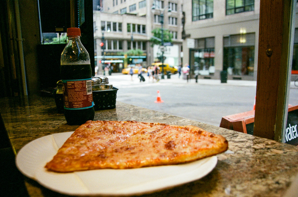 Pizza for Breakfast. Again, no shame.