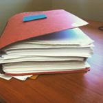 Again, a not so unusual size for a case file—and so much is at stake.