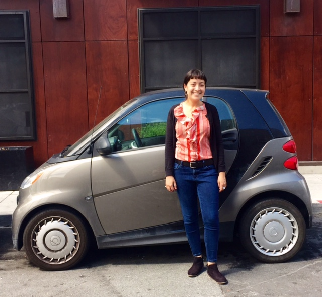 The day I left San Francisco—with everything I own in this 'lil car.