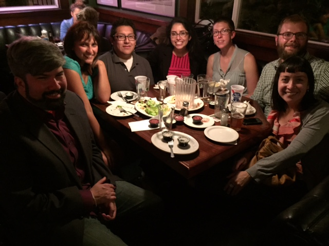 Spending the evening with some fellow legal advocates from the Northwest Immigrant Rights Project in Tacoma, Washington