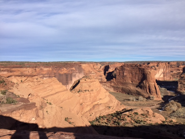 The Canyon De Chelly in Chinle on the Navajo Reservation