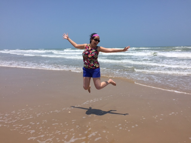 My 34th birthday at South Padre Island, Texas