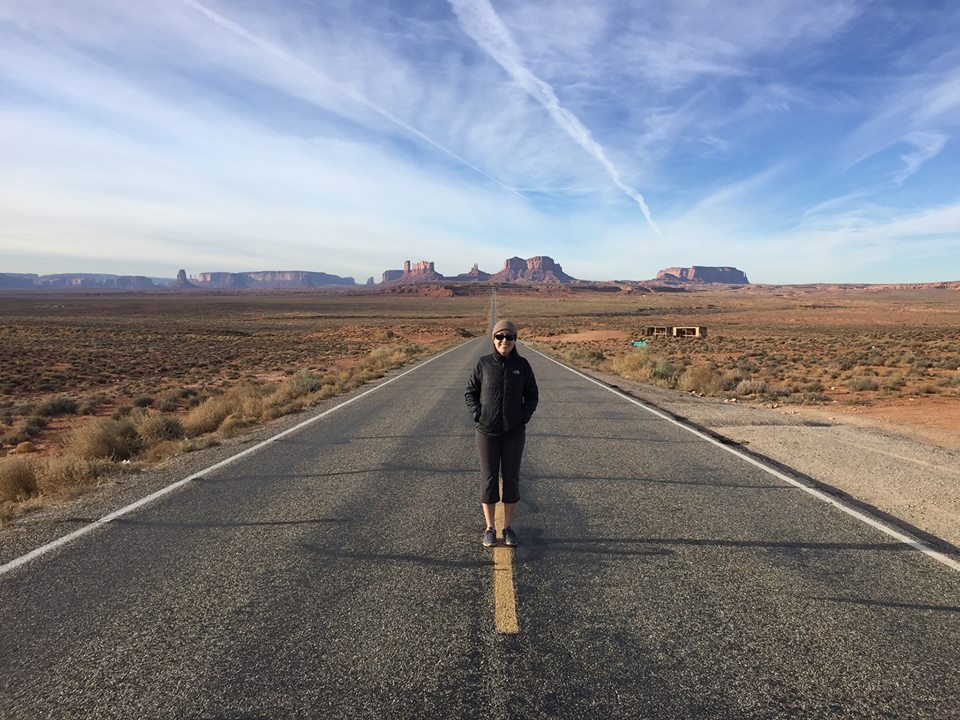 On the Navajo Nation at Monument Valley, UT -- December 2015