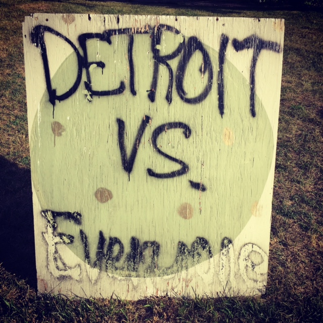 At the Heidelberg Art Project -- Detroit, Michigan