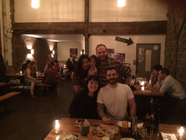 One of the things I enjoy about being a pro bono lawyer on the road the most is getting the chance to reunite with friends all over the country. Here are some friends I interned at Amnesty International with in DC 13 years ago -- this pic is when we were catching up last week in Brooklyn.