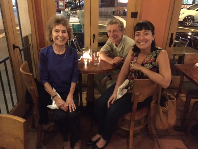 A few weeks ago in NYC, my friend Lyn (whom I volunteered with at the family detention center in Dilley, Texas) -- took me out to dinner with her husband, Dave.  Even though we spent just a week volunteering together in South Texas , it was the type of experience that will bond you for life, as we remarked to each other that night.