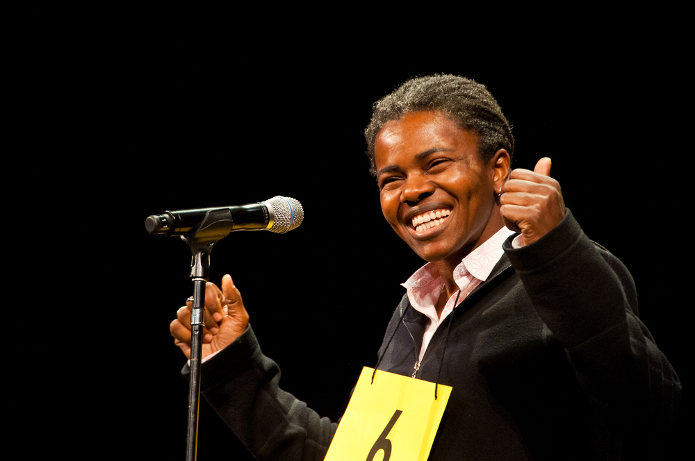 Tracy Chapman at The Spelling Bee Company fundraising show