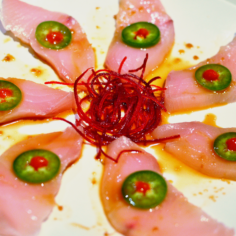 Yellowtail with Jalapeno