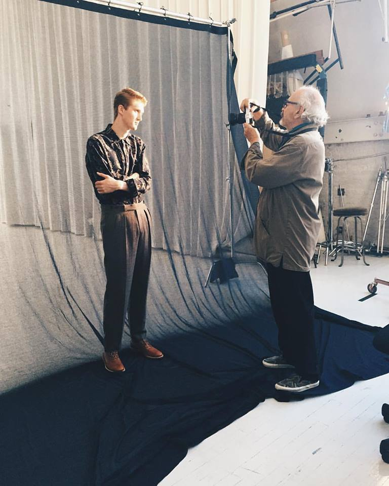 Visual Tales cover shoot w/ Arthur Elgort. New York, NY. October 2015.