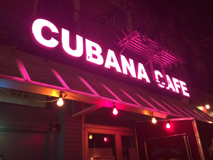 Cubana Cafe - A little bit of Old Havana