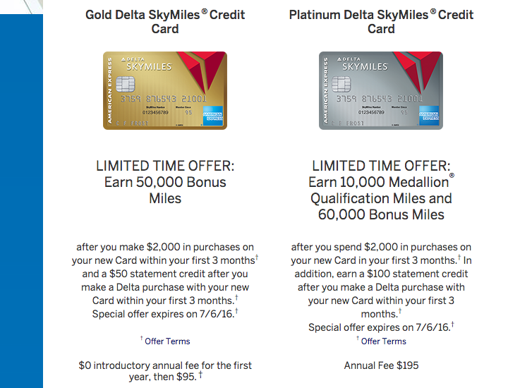 Looking Into The Current Limited Time Amex Delta Card Bonus Offers
