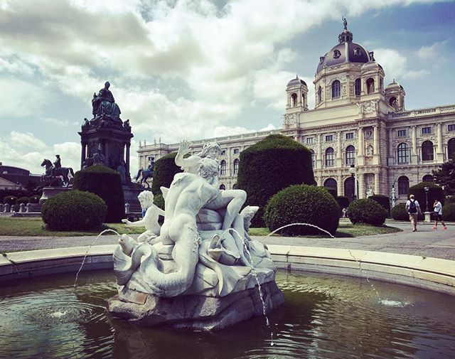 We weren't sure about Vienna's beauty after riding along the graffiti-laden canals...we're sure now! #fantastisch