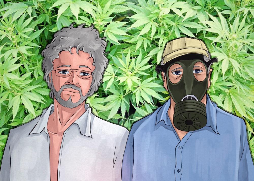 Dave High & Roland Jointz manga by Okashy