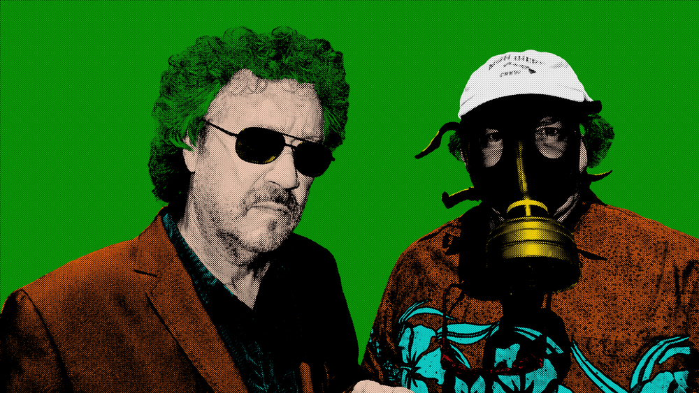 Dave & Roland in the style of Andy Warhol by Deanna22 NZ