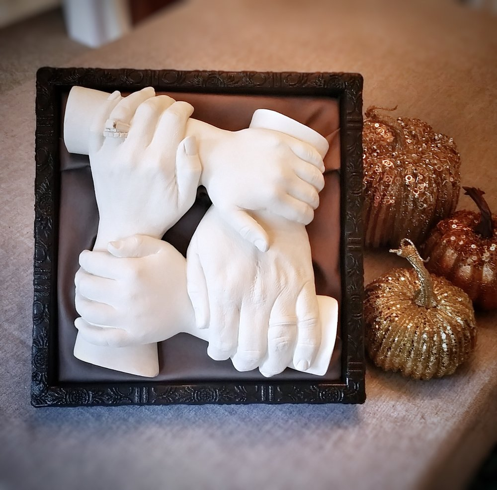 $40-$50 -- Leaning Shadow Box, for Tabletop, for Two or Four Hands (White or Black)