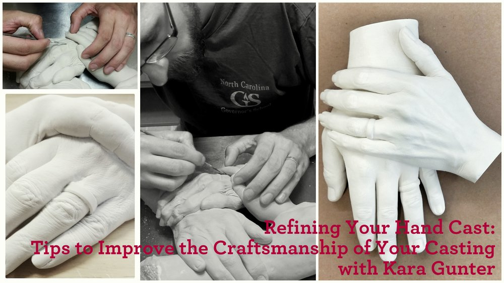 Class Three - Refining Your Hand Cast: Tips to Improve the Craftsmanship of Your CastingSkillshare Link: https://skl.sh/2GNkEwD This class is the third in a series of three classes, which will walk you through the process of refining the casting you made after watching Making the Mold and Filling the Void. This series of classes is designed for the absolute beginner, however an adventurous spirit is a must! This thorough series of classes will walk you through making a mold, pouring the mold, and refining the casting. If you are interested in beginning your own hand casting business, you're an artist looking for an accessible introduction to body or life casting, or you want to take your own hand cast for your family or friends to the next level, this is a great place to start.