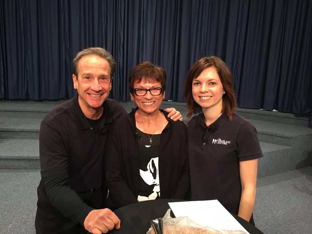 Dr. Bob, Sylvia, Dr. Casen