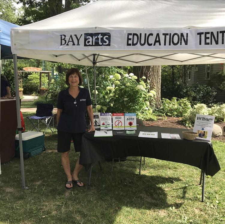 Debbie at the Bay Arts Farm & Art Market