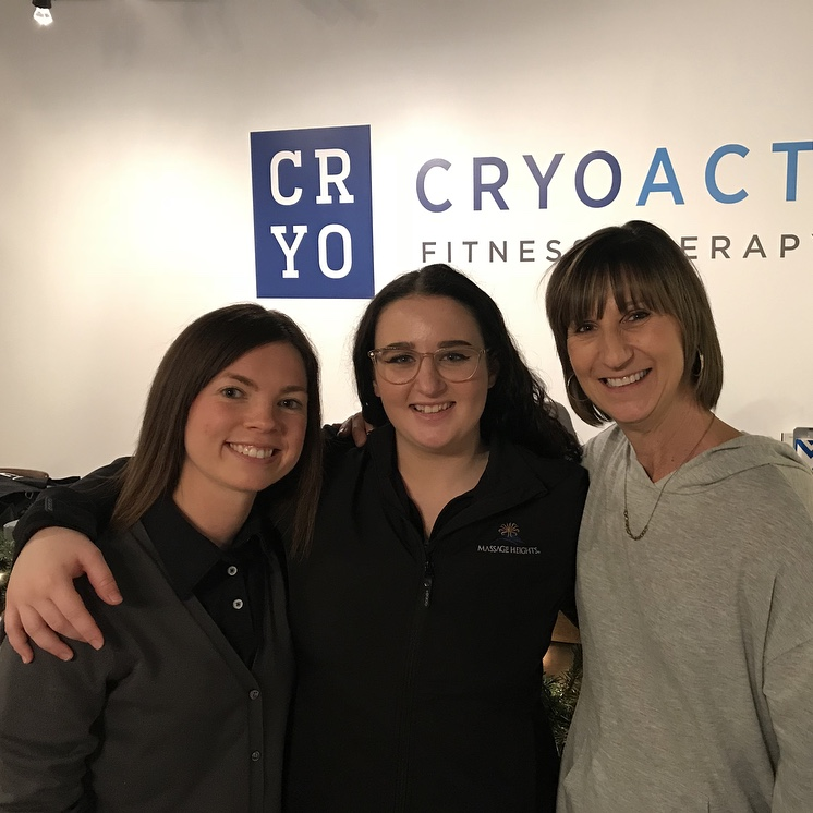 """New Year-New You"" at CryoActive Fitness Therapy"