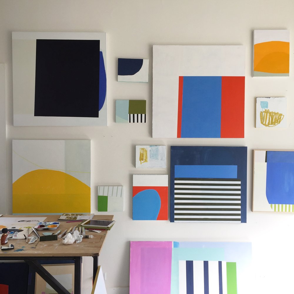 Studio wall Sept 17 | Laurie Fisher.jpg