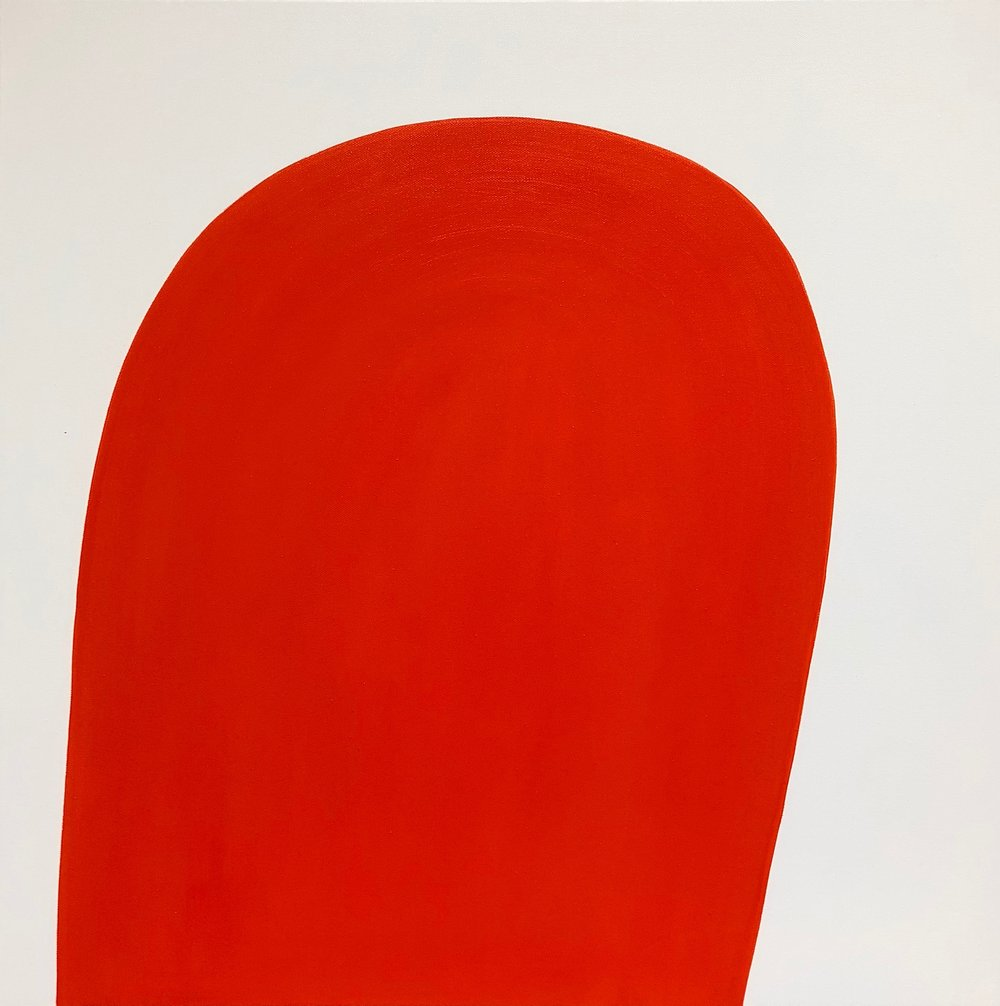 Red on Pale Blue Study | Laurie Fisher.jpg