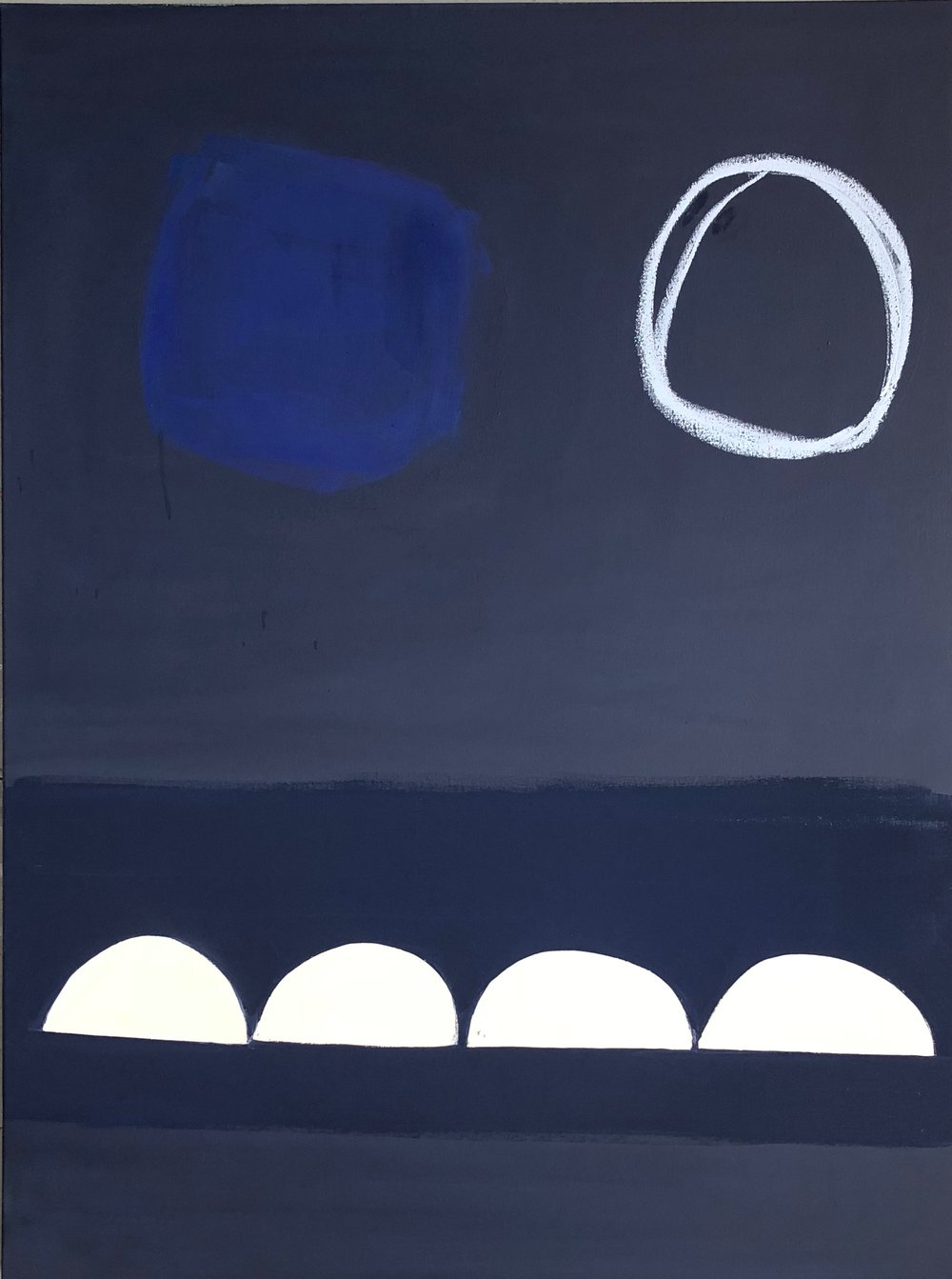 Midnight Blue and Cobalt