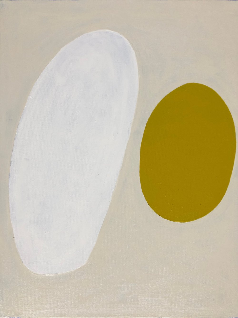 Milk White, Olive Yellow | Laurie FIsher.jpg
