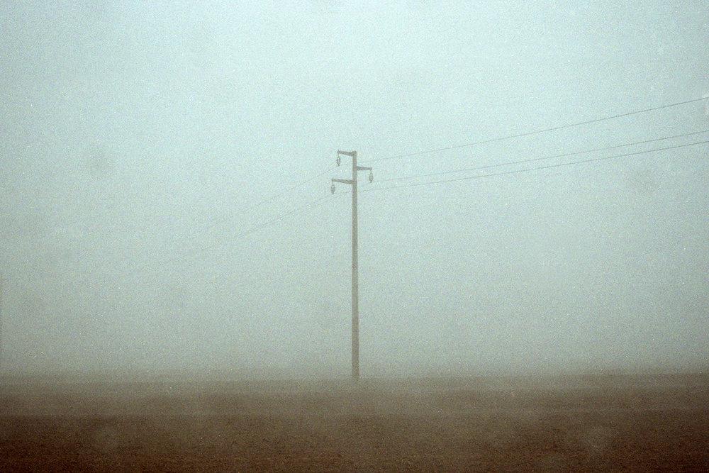 A foggy day in Emilia