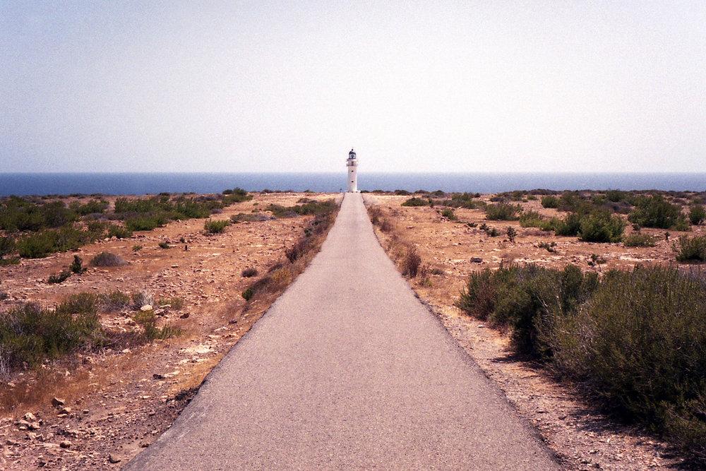 Cap de Barbaria lighthouse in Formentera